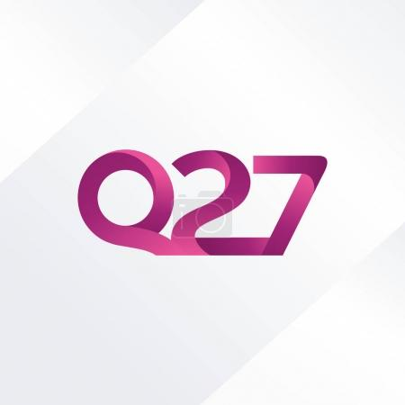 letter and digit Q27 logo