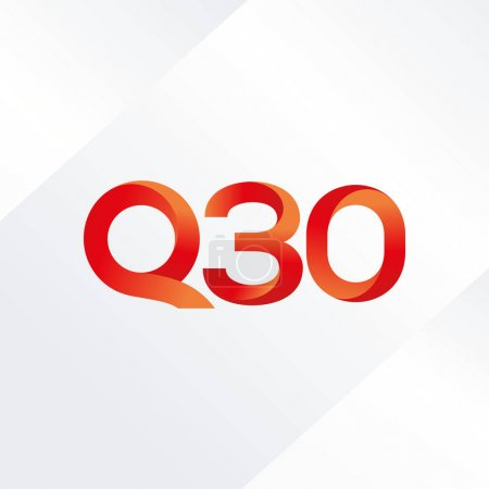 letter and digit Q30 logo
