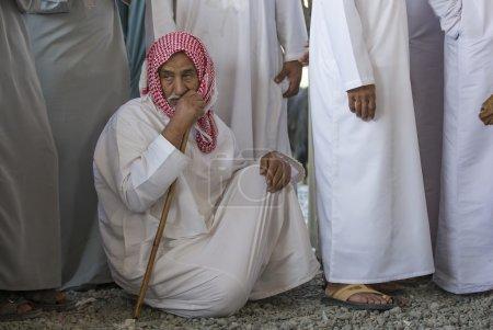 Omani man in Nizwa goat market