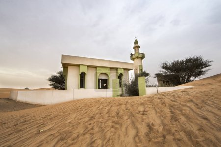 Mosque in an abandoned vllage near Dubai