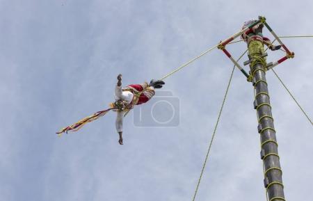 ritual ceremony of Voladores