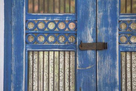 old wooden door in Tulum