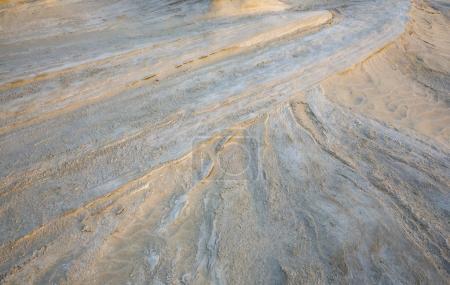 sand formations in desert near Abu Dhabi