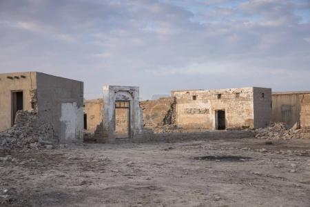 Photo pour Vieux village abandonné à Ras Al Khaimah - image libre de droit