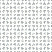 Circular pattern Seamless background wallpaper for registration of a notebook textbook web site web design fabric material vector illustration
