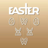Easter laser cutting