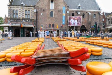 Famous Dutch cheese market