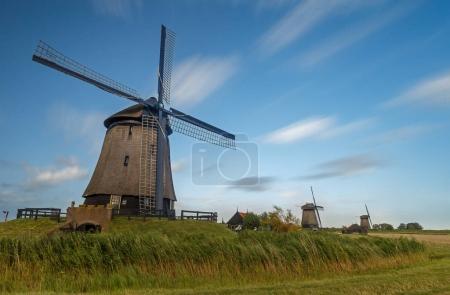 Old Dutch windmill