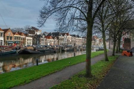 The Netherlands November 4, 2017 old city of Zwolle with his famous highlights and center streets.