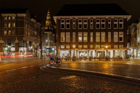 City center of Alkmaar Netherlands