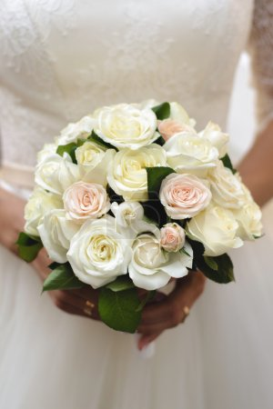 Wedding bridal bouquet.