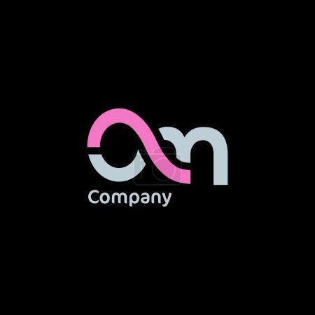 aM company logo illustration
