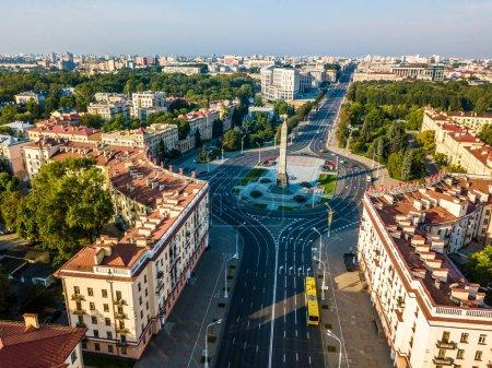 Photo pour Oiseaux vue de Minsk, Biélorussie - image libre de droit