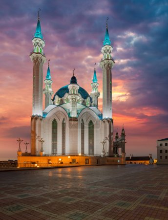 Kul Sharif Mosque. Kazan city, Russia