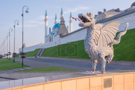 Zilant dragon. Kazan city, Russia.