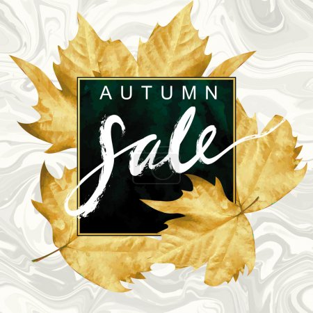 """Autumn Sale"" hand written lettering"