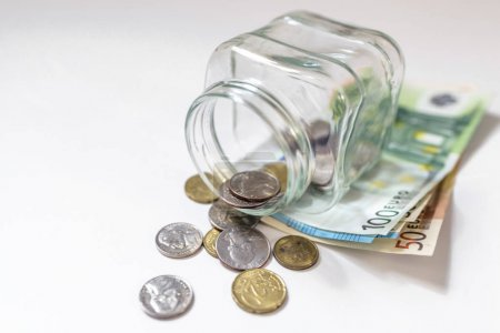 concept of saving money.