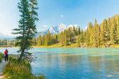 Photos at  bow river Banff
