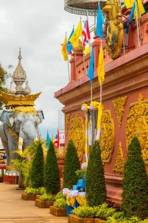 Religious sculpture in the golden triangle of chiang mai thailan