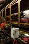 Rapair workshop for old train