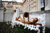 urban sculpture in Turin