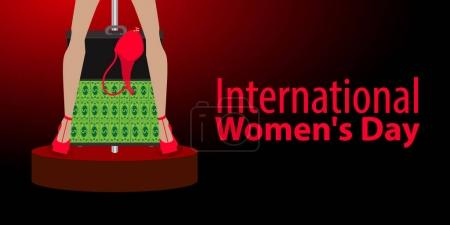 International Women's Day. feminism. Financial
