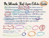 Text correction symbols on paper