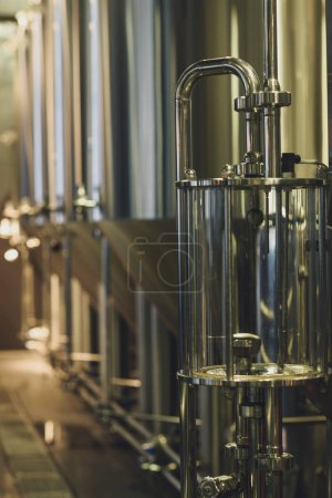 Modern brewery equipment