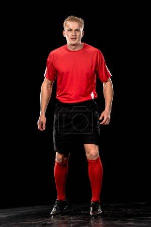 Soccer player in uniform