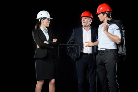 Group of professional architects