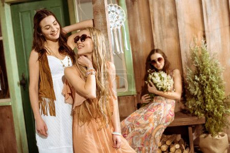 Young bohemian women