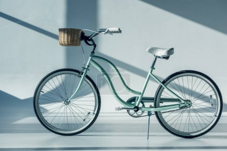 hipster bicycle with basket