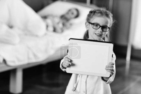 Little girl doctor