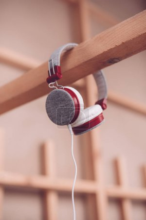 Modern headphones with cable