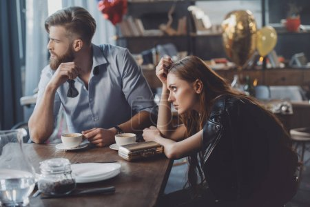 Man and woman with coffee