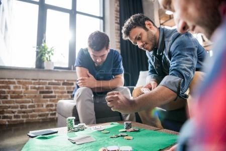Men at gaming table