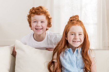 redhead siblings together