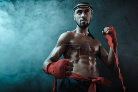 Muay Thai athlete