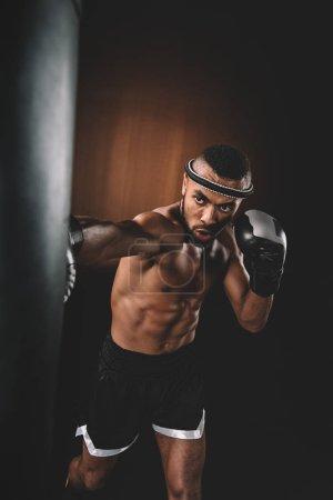 Muay Thai athlete training