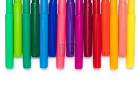 Colorful felt tip pens