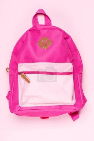 kid's pink schoolbag