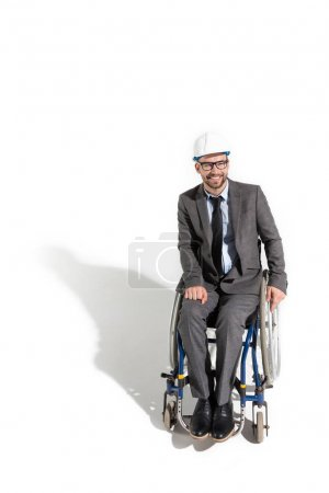 disabled architect in wheelchair