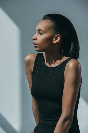 African american stylish girl