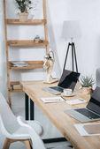 Modern office workplace