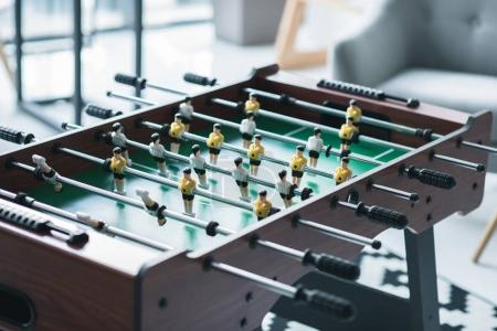 Photo for Foosball at modern office, close-up view - Royalty Free Image