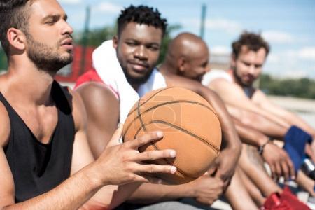 multicultural basketball team