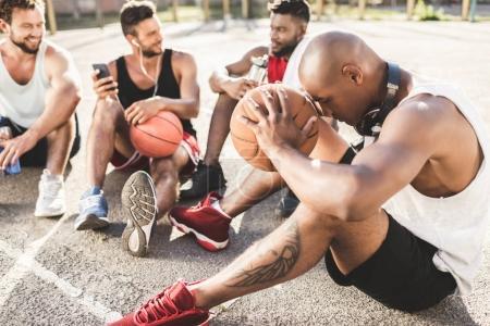 multiethnic basketball team