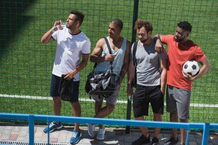 Multicultural soccer team