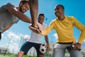multiethnic soccer team