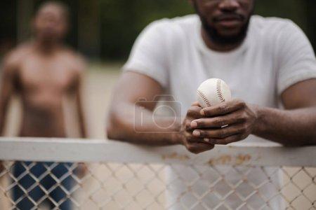 handsome baseball player
